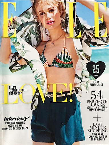 ELLE july issue: Summer horoscope 2014