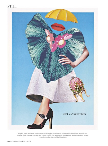 Harper's Bazaar September issue, 2015: Trends F/W
