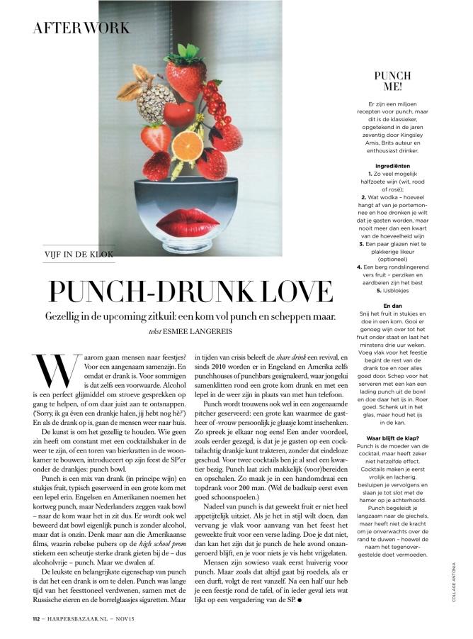 Harper's Bazaar month. column 11.15