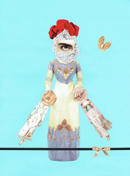 Bazaar Art:Bloemsierkunst (2016), 50x40cm