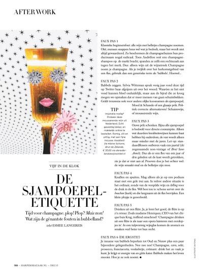 Harper's Bazaar month. column 12.15
