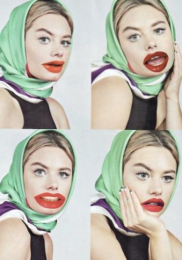 Lipstick (2015), 40x30cm