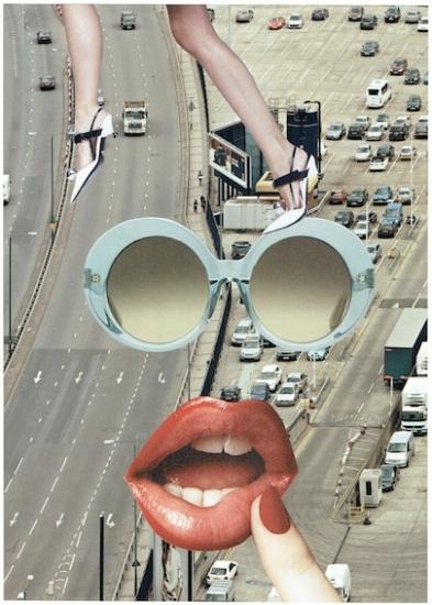 Urban Fairytale: Highway (2016), 40x30cm