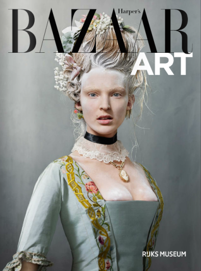 "Harper's Bazaar Art, for the exhibition ""Catwalk"" at the Rijksmuseum. March issue, 2016."