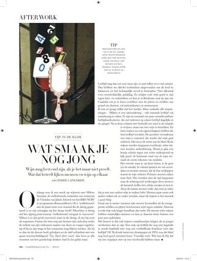 Harper's Bazaar month. column 05.16